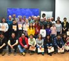 Barañáin entrega los certificados Bai Euskarari a 37 entidades y comercios