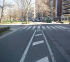 Grave una mujer de 73 años atropellada en Pamplona