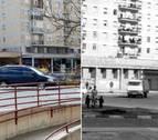 IMAGEN INTERACTIVA | Cuando cambió... la avenida de San Jorge/avenida de Navarra