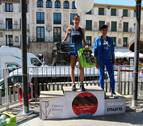 Alba y Pradilla triunfan en Tudela