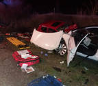 Muere el joven de 23 años herido el domingo en el accidente de Olite