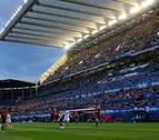 La plantilla de Osasuna verá el Albacete-Granada en El Sadar esta noche