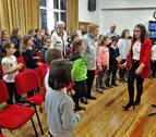 El Coro Infantil del Orfeón Pamplonés y Solera crean un coro intergeneracional