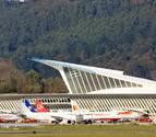 Cancelados 20 vuelos en el primer día de huelga en el aeropuerto de Bilbao