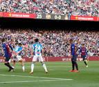 Messi finiquita el clásico catalán en 20 minutos