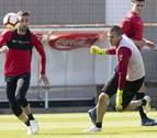 Oier y Juan Villar, novedades para el partido ante el Extremadura Unión Deportiva