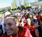 Récord de público en un partido de rugby femenino con 9.000 espectadores