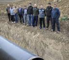 Las obras para llevar agua del Canal a Funes se paran cuando faltan 150 metros