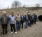 Los regantes de Funes pagarán los 150 m de Canal que faltan hasta sus cultivos