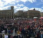 Mil auroros de Navarra cantan por el autismo