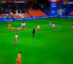 Arcediano no señaló dos penaltis a favor de Osasuna