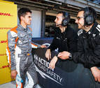 Debut con podio de Azcona en el Mundial