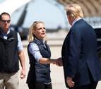 Trump anuncia la marcha de la secretaria de Seguridad Nacional, Kirstjen Nielsen