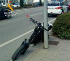 Herido leve al ser atropellado cuando circulaba en bicicleta eléctrica en Cordovilla