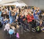 Agenda del sábado en Expofamily: fútbol con robots, yoga, fiesta sanferminera, emociones...