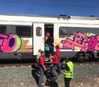 Una avería en un tren obliga a evacuar a los pasajeros a la altura de Lodosa
