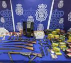 Desmantelan en Córdoba un taller clandestino para modificar armas de fuego