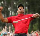 Tiger Woods conquista el Masters y vuelve a ganar un 'major' once años después