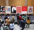 Los carteles del concurso internacional de San Fermín, en Condestable