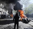 137 detenidos durante la jornada de protesta de los 'chalecos amarillos' en París