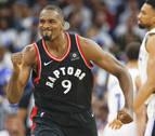 Finales de la NBA: Leonard e Ibaka silencian a los Warriors y los Raptors acarician el título