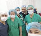 Los cirujanos de la esperanza