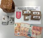 Tres detenidos en Barañáin y Valtierra por presunto tráfico de drogas