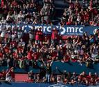 El gol de Unai García hizo saltar el automático de la megafonía en El Sadar