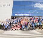 Más de treinta empresas de Navarra corren de nuevo por la seguridad laboral