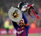 Messi hace al Barcelona campeón de Liga