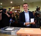 Casado espera que salga un gobierno estable de las elecciones