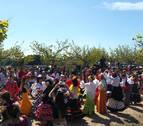 La Concentración Rociera reúne en Murchante a alrededor de 350 personas