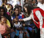 La reina Letizia visita un centro contra la malaria impulsado por España