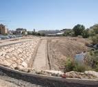 El parque del Queiles de Tudela contará con un carril bici separado del paseo peatonal