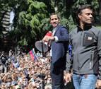 Guaidó anima a los militares leales a Maduro a que se sumen a la