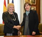 Barkos firma un acuerdo para la continuidad del Instituto de Agrobiotecnología