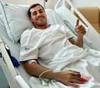 Casillas, operado tras sufrir un infarto agudo entrenando con el Oporto