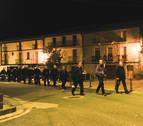 Pasos nocturnos en silencio hasta Ujué