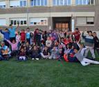 Convivencia entre los niños en San Adrián