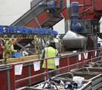 La planta de Aspace en Aoiz recicla en 12 años más de 50.000 toneladas de residuos