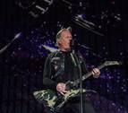 Metallica intenta calentar a las masas en Madrid en su mayor concierto en España