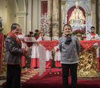 Misa de la escalera para los ayudantes de San Fermín