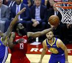 Harden brilla en la prórroga y da a los Rockets el primer triunfo