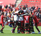 Un gol en el último minuto mantiene muy vivo el sueño del Mallorca