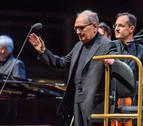 Morricone emociona con su música en Bilbao en su despedida de los escenarios