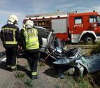 Herido muy grave un joven de Cintruénigo de 23 años tras accidentarse en Corella