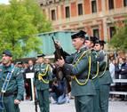 La Guardia Civil homenajea en Pamplona a las víctimas del terrorismo