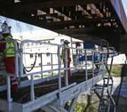 El Colegio de Ingenieros llevará a cabo una prueba de carga en la pasarela del Labrit