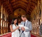 Los duques de Sussex presentan a su hijo en sociedad