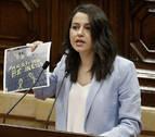 Arrimadas se despide del Parlament tras la etapa